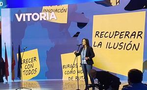 Leticia Comerón: «Ganaré y gobernaré. Vitoria tiene que dejar de ser una ciudad triste»
