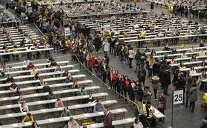 Más de 8.000 aspirantes a tres bolsas de trabajo del Gobierno vasco se examinan en el BEC