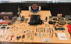 Dos detenidos en Bilbao por el asalto a una veintena de casas, principalmente de Leioa y Getxo