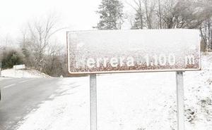 La nieve regresa a Álava