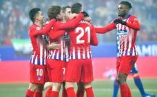 El Atlético de Madrid saca las alas