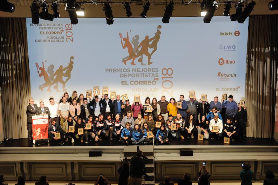 Premios a los mejores deportistas de Bizkaia