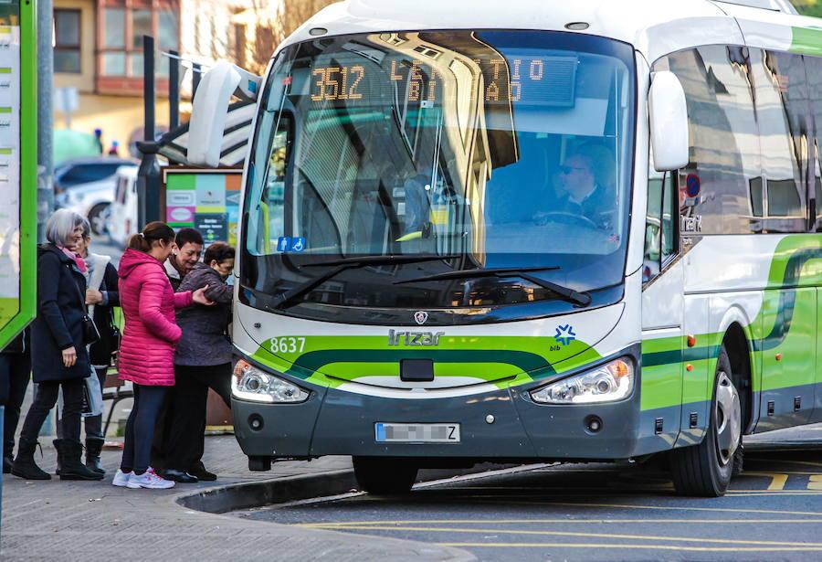 Desconvocada la huelga de una de las adjudicatarias de Bizkaibus