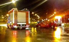 Cuatro heridos al colisionar dos vehículos en Vitoria