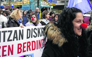 Récord de huelguistas en Euskadi, con la mayor cifra en los últimos doce años