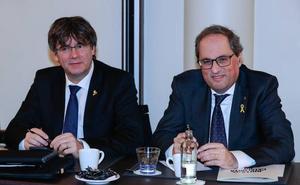 JxCat y ERC chocan por la intención de Puigdemont de volver a ser investido