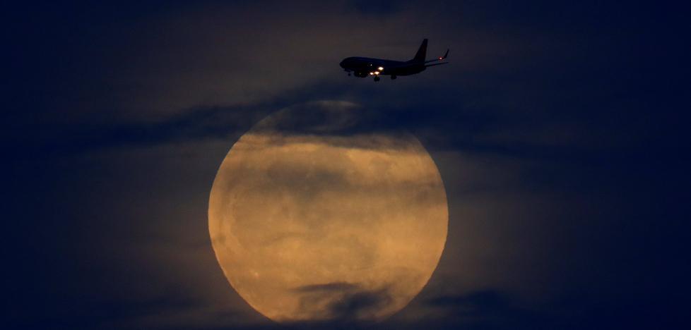 Así vio el mundo la superluna de sangre