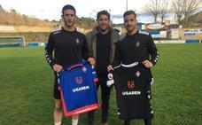 Lozano y Felipe ya entrenan con el Amorebieta