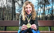 Eztizen Etxebarria: «Sufrí acoso escolar y el atletismo fue mi válvula de escape»