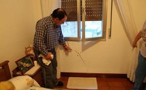 Las casas de Santurtzi afectadas por las grietas del metro se repararán en otoño