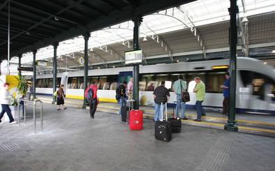 Santander quiere llegar por tren a Bilbao en 40 minutos