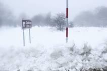 Temporal de nieve y lluvia en Euskadi