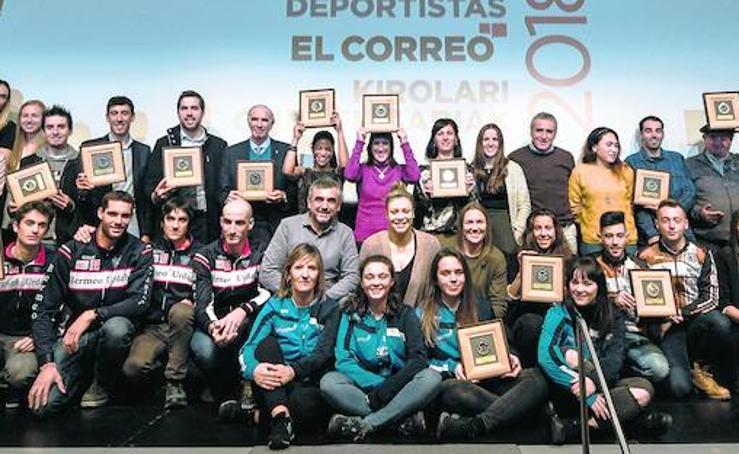 Las mejores imágenes de la gala del deporte de EL CORREO