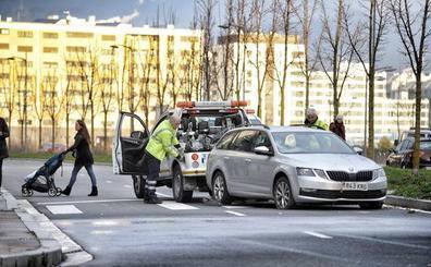 Zabalgana se moviliza contra «las autopistas» que cruzan el barrio