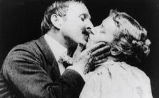 El primer beso de la historia del cine