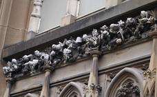 La Guerra del Gurugú en la catedral nueva de Vitoria