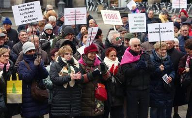 Los pensionistas alaveses enviarán más de mil cartas a Pedro Sánchez