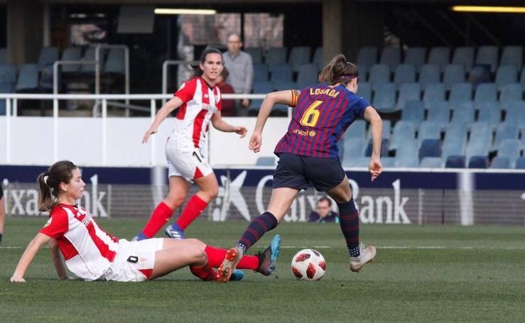 El duelo entre el Barcelona y el Athletic, en imágenes