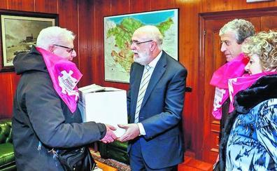 El movimiento vasco de pensionistas registra sus primeros abandonos