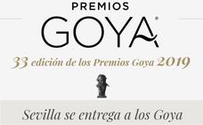 Premios Goya 2019: día, horario y dónde ver la Gala en directo, online