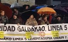 Rementeria defiende la alternativa al metro en Galdakao porque «da más servicio a más gente»