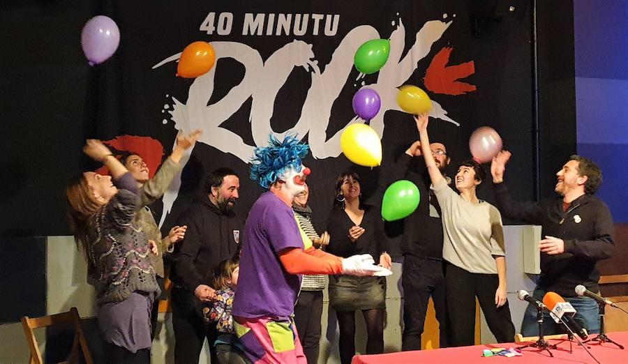 Zea Mays, Huntza eta Esne Beltza arituko dira 40 minutu rock jaialdian