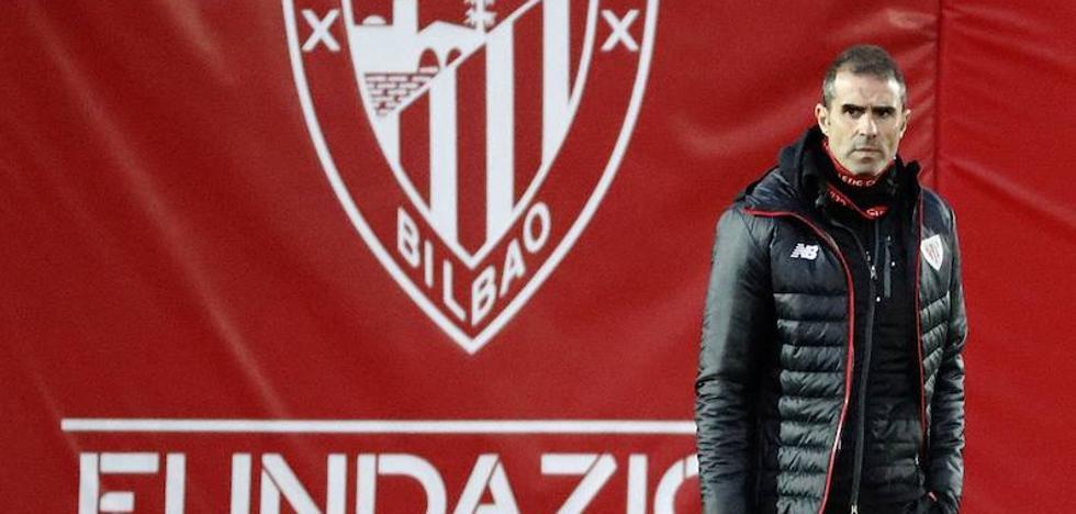 Garitano se alegra por el éxito del partido de Copa de la Reina: «Se lo merecen»
