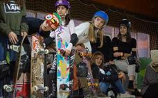 Las skaters no patinan solas