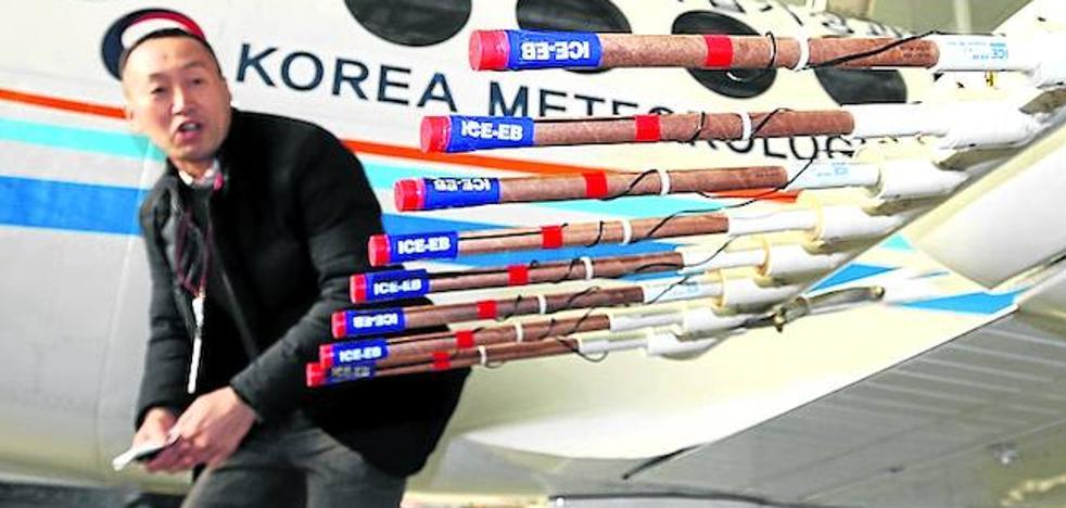 Seúl fabrica su propio sirimiri