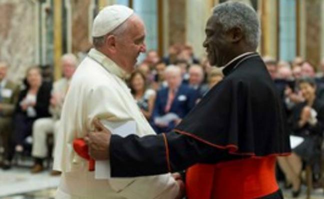 El cooperativismo vasco seduce al Papa