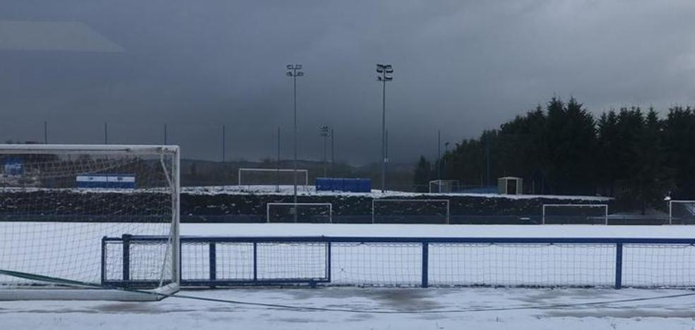 Suspendido por la nieve y el hielo el partido de las Gloriosas en Ibaia