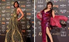 Las mejores vestidas y las que no acertaron con sus modelos en los premios Goya
