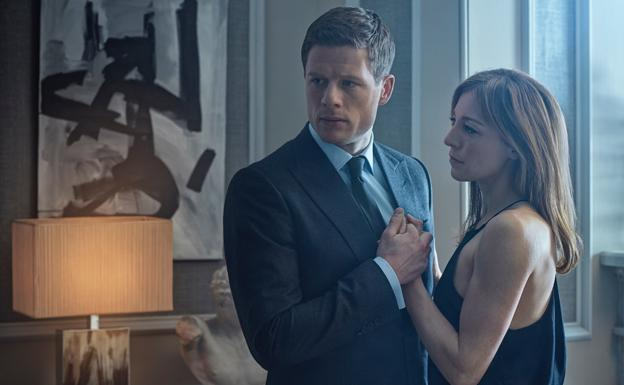 James Norton y Juliet Rylance, en 'McMafia'./