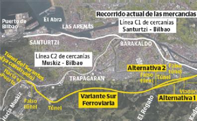 La Variante Sur Ferroviaria, pendiente de si cruzará por debajo o por encima el río Castaños