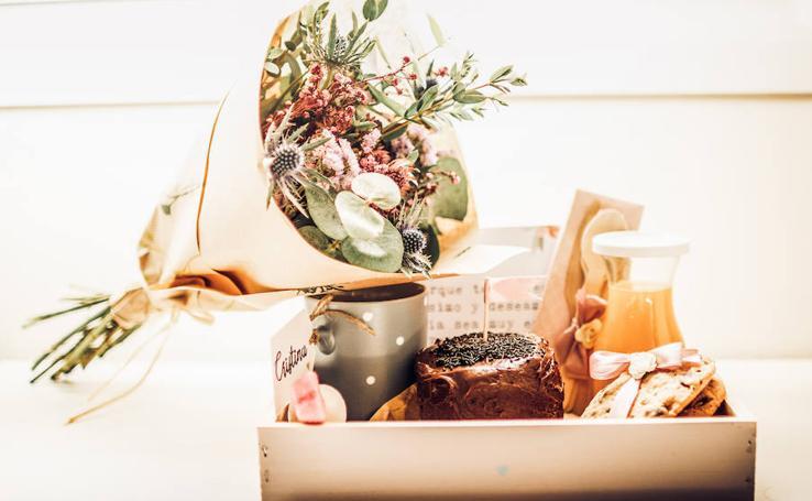 Los desayunos a domicilio más bonitos de Bizkaia para sorprender a quien tanto quieres