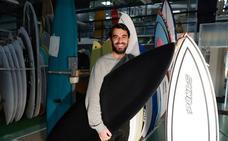 Una tabla de surf vasca, segunda mejor del mundo