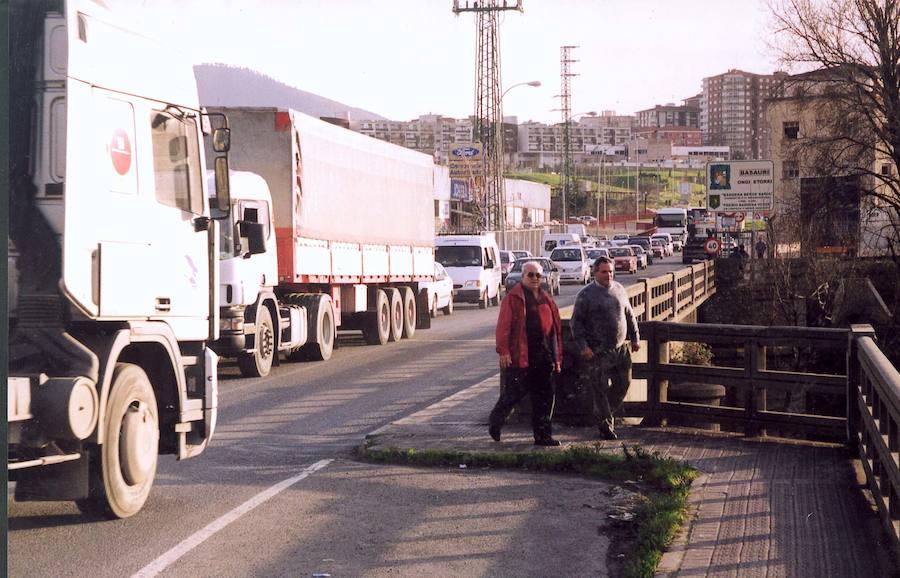 El puente de La Baskonia estará cerrado 9 meses a partir del martes