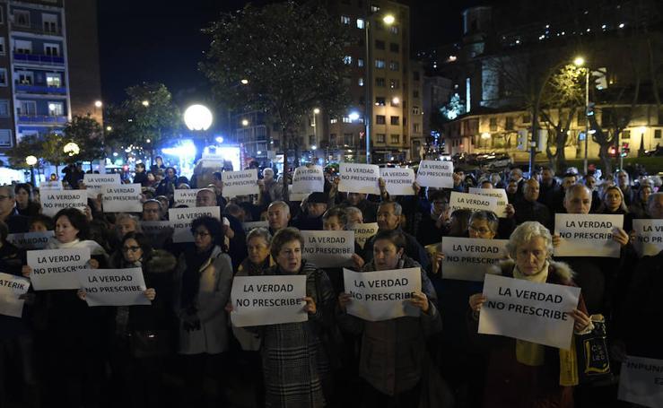 Las imágenes que deja la manifestación en Deusto