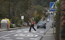 Dos rotondas calmarán el tráfico en la travesía general de Arteaga