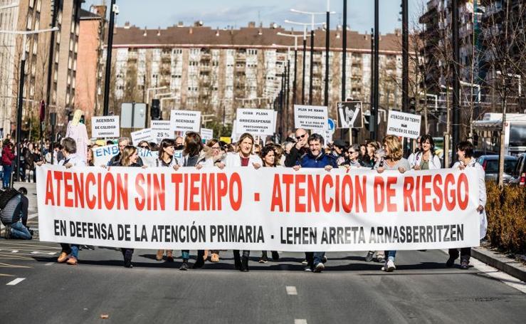 Los médicos de Atención Primaria de Euskadi convocan tres días de huelga