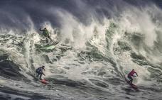 Las grandes olas de la Vaca de Santander