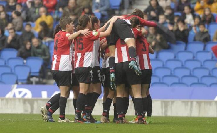 Las imágenes del encuentro entre la Real Sociedad - Athletic