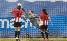 Ainhoa Tirapu: «No hemos estado muy acertadas con balón»