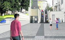 El entorno de la Cuesta estrenará dos postes con proyectores y un parking para 200 bicis