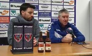 «Cada error nos cuesta un gol en contra», lamenta Lambea