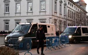 Interior moviliza a los servicios antiterroristas para garantizar la seguridad durante el juicio del procés