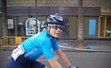Sheyla Gutiérrez vuelve a pedalear por su sueño