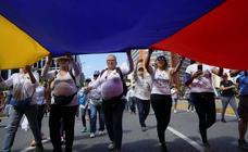 La oposición caraqueña sale a las calles