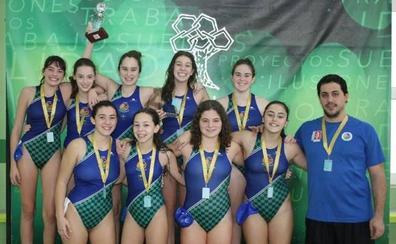 El Leioa WLB infantil femenino se proclama campeón del «Poloamigas» de Zaragoza