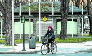 Vitoria recupera el servicio de alquiler de bicis en el parque de La Florida